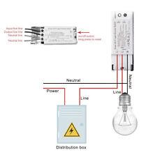 Luz inteligente Wi-Fi Interruptor Regulador Controlador Interruptor de control de voz y automatización del hogar
