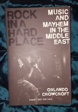 ROCK IN A HARD PLACE by ORLANDO CROWCROFT-ZED-P/B-UK POST £3.25*PROOF*