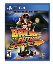 PLAYSTATION 4  PS4 GAME BACK TO THE FUTURE 30TH ANNIVERSARY BRAND NEW SEALED