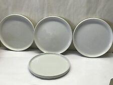 Lot of 4 BAUHAUS Stoneware Trend Pacific JAPAN pottery Salad Plates Dinnerware