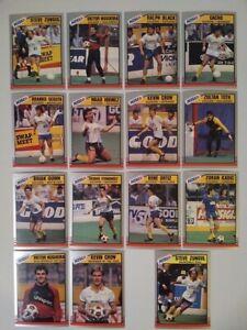 1989-90 Pacific MISL Soccer: San Diego Sockers TEAM SET (#1-14 & #110)