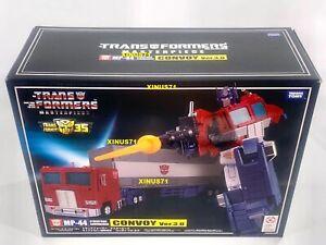 NEW IN BOX Transformers Masterpiece MP-44 Convoy 3.0 - Optimus Prime Takara Tomy