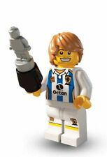 BN Lego minifigures series 4 8804-11 soccer player silver award mini figure