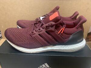Men's Adidas Ultraboost Ultra Boost 1.0 Size 12 Burgundy Maroon AF5836