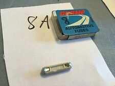 Old car and truck fuse,   PN 8 A.  Lot of 2.   Item:  0105
