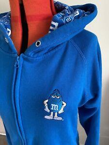 M&M's World Unisex Hoody.. Sweatshirt… Sz M .. Adults.. Unique