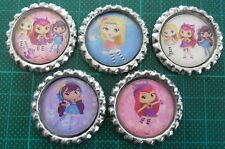 5 x Little Charmers Bottle Caps - Great for Necklaces, Bows
