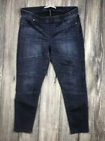 Celebrity Pink Women's Jegging Jeans ~Size Large Dark Wash Mid Rise Ankle Skinny