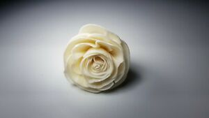50 Big Rose 2 inch. Dia. Diffuser Flowers Sola Balsa Wood Wholesale Bouquet