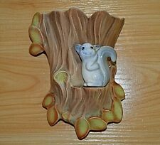Vintage Hornsea pottery Squirrel on tree, number 572