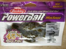 Powerbait MaxScent Meaty Chunk - Green Pumpkin