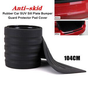 104CM Rubber Car Auto Sill Plate Bumper Guard Protector Pad Cover Anti-skid Part