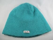 Neff Green Adult One Size Beanie Cap Hat Great Condition