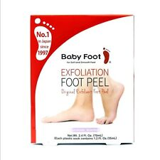 BABY FOOT Exfoliation Smooth Feet Skin Exfoliant Peel, UK SELLER, GENUINE