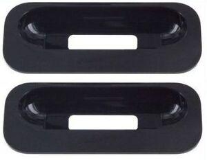 2 x APPLE UNIVERSAL DOCK ADAPTER No6 iPod color display 20GB 30GB Black MA122G/A