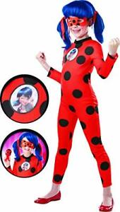 Official Miraculous Ladybug Deluxe Childs Costume and Eye mask,