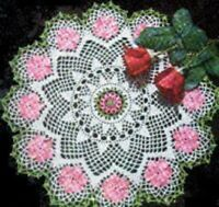 Vintage Crochet Centerpiece Doily #27 PATTERN ONLY