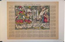 Imagerie d'Epinal, Pellerin, Ste Geneviève de Brabant.