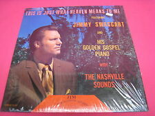 VINTAGE USED LP RECORD JIMMY SWAGGART THIS IS JUST WHAT HEAVEN MEANS TO ME (828)