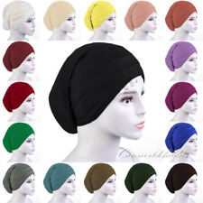 Women Hijab Muslim Islamic Head Cover Cap Turban Hat Arab Inner Jilbab Headwrap