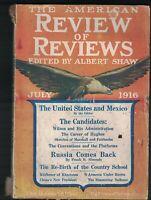 American Review of Reviews July 1916 Li Yuan-Hung China Lord Kitchener