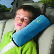 Child Safety Seat Belt Blue Pillow Auto Harness Shoulder Car Pad Cushion Strap