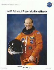 Astronaut: Fred Hauck. Autograph,Hand Signed