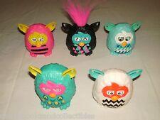 Hasbro Furby 2013 McDonald's Happy Meals Toys Lot of 5