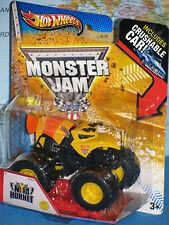 HOT WHEELS MONSTER JAM NITRO HORNET 1st EDITIONS 2013 CRUSHABLE CAR NEW & RARE