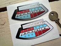 Lambretta Innocenti Scooter Stickers 90mm Pair Li GT GP SX LX TV Classic Vintage
