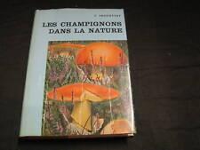 J.JACCOTTET: les champignons dans la nature