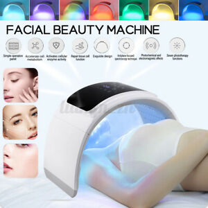 LED Light 7 Color Therapy Skin Rejuvenation PDT Anti-aging Facial Beauty