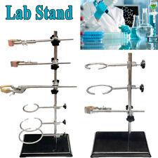 5060cm Retort Laboratory Stand Support Lab Clamp Flask Clamp Condenser Platform