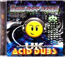 STRICTLY UNDERGROUND Ruff Ryder Acid Dubs CD House/Ragga Mixes UN-MIXED for DJs