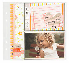 Memorology PAGE PROTECTORS for 8x8 Albums scrapbooking Pocket Pages