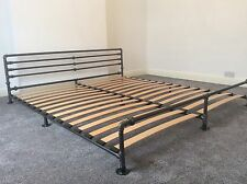 Hand Made Metal Bed Frame | Single Double King Super King Size | Sprung Slats