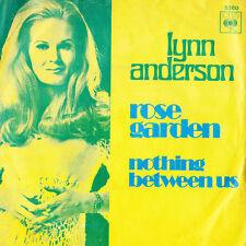 LYNN ANDERSON Rose Garden / Nothing Between Us - Original Record CBS 1970 45rpm