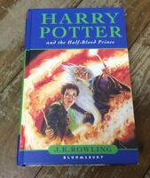 HARRY POTTER & the HALF BLOOD PRINCE UK FIRST EDITION 1ST PRINT BOOK. Bloomsbury