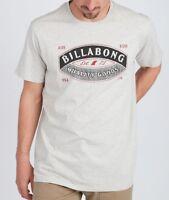 BILLABONG MENS T SHIRT.GUARDIANT GREY COTTON SHORT SLEEVED CREW TEE TOP 8W 6 454