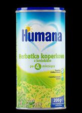 Humana Fenouil thé avec du Carvi bébé enfants 4m+ 200 g