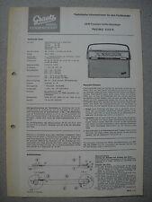 ITT/GRAETZ Pagino 1333 K Service Manual