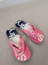 Superdry Ladies Fitflops Fit Flops Medium Medium Size 5/6 Hardly Worn
