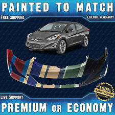 NEW Painted To Match Front Bumper Replacement for 2014 2015 2016 Hyundai Elantra