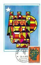 ITALIA REP. - 1975 - Centenario dell'unificazione degli archivi di Stato su max.