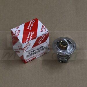 New Genuine OEM Toyota Lexus Engine Coolant Thermostat 90916-03075