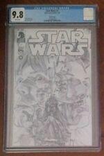 Star Wars (2013) #1 - Alex Ross Retailer Sketch CGC 9.8 - 1:200 Variant Comic