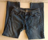 Ann Taylor LOFT Women's Size 6 Petite Curvy Boot Cut Medium Wash Jeans