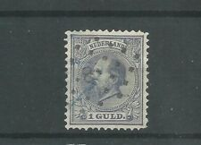 Nederland 28  Willem III 1872 VFU/gebr  CV 50 €