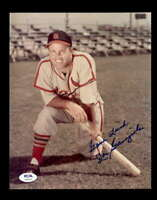 Joe Garagiola PSA DNA Coa Hand Signed 8x10 Photo Autograph