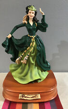 Vintage San Francisco Music Box Co. Gone With The Wind Scarlett In Green Dress